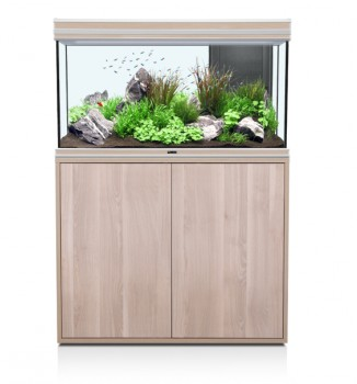 Un aquarium de 243 litres, soit : L 102 cm, l 40 cm, h 60 cm